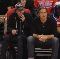 Timothy Olyphant has a coveted seat at the L.A. Clipper Playoff Game.  Read more herehttp://timothyolyphantjustified.com/blog