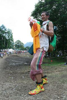 タワレコ夏フェス応援グッズフォトレポート@Fuji rock fes'09