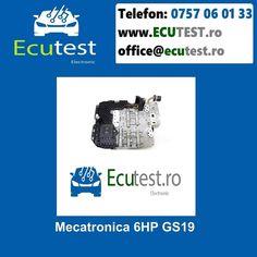 Reparatii electronice mecatronica cutiei automate 6HP GS19 . #ClujNapoca #Cluj #Romania #Mecatronica #CutiiAutomate #Electronica #Audi #VW #SKODA #SEAT #6HP #GS19 #TCU #ecutest - testare mecatronica - reparatie de natura electronica si hidraulica a mecatronicii - reprogramari software - update software - clonari software Contacteaza-ne : Tel : 0757 06 01 33 www.ecutest.ro Software, Audi, Shopping