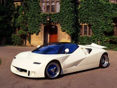 Ford GT90 Concept, the engine supposedly would get so hot they lined the bay with ceramic tiles.