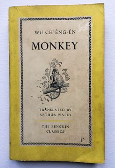 A personal favourite from my Etsy shop https://www.etsy.com/uk/listing/514484909/monkey-wu-cheng-en-1961-first-edition
