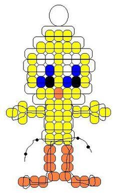 Картинки по запросу простые схемы бисероплетения