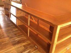 custom bookshelves along stairway - Google Search