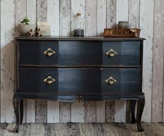 Kommode schwarz vintage  43 best SHOP ⋆ möbel images on Pinterest | Shabby chic style, Chest ...