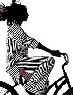 black + white stripes