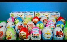 Spiderman Surprise Eggs Toys Kinder Playdough Videos Movie Egg