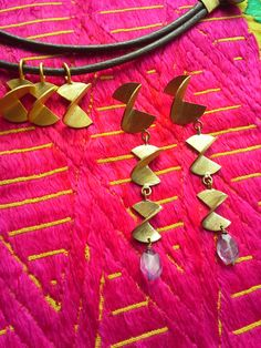 """ISLA FALL/WINTER 2014  """" ROME COLLECTION """" - Earrings with light amethist"""