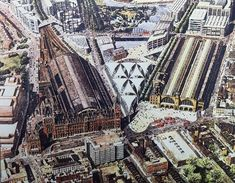 The Second King's Cross Station That Was Never Built Disused Stations, Victorian Buildings, Liverpool Street, British Rail, Great Western, Weekend Breaks, Vintage London, Power Boats, City Buildings