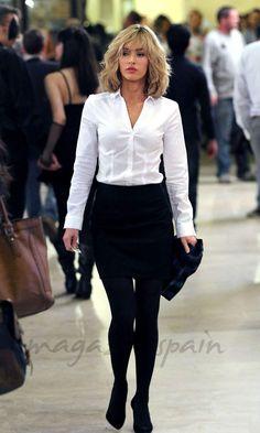 Megan Fox Office Fashion, Work Fashion, Fashion Looks, Fashion Outfits, Womens Fashion, Megan Fox Style, Megan Fox Photos, Megan Denise Fox, Fox Shirt