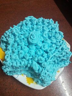 Yummy Star shape cake  for the  star personality