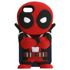 Marvel Chara-Covers Deadpool iPhone 5/5S Case | Hot Topic ($6.98) ❤ liked on Polyvore featuring accessories, tech accessories and phone cases