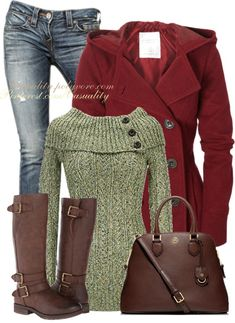 Marilyn Sweater Casual Fall Outfit. Cute sweater. :)