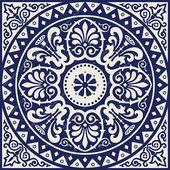 PRINTABLE Mandala style wall art, Navy blue Set of 2 medallion motif prints, Digital tiles Square geometric design, DIY posters - Blue Navy Print Navy Geometric Art Blue Wall Art Geometric design Navy Wall Art Square Print N - Design Set, Diy Design, Blue Design, Navy Walls, Home Decor Sets, Geometric Wall Art, Geometric Mandala, Stencil Designs, Tile Stencils