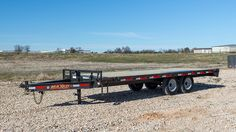 MAXXD 14K DECKOVER | MAXXD Trailers - Blue Hills in Brandon Trailer Build, Car Trailer, Trailers, Deck Over Trailer, Blue Hill, Saving Ideas, Tiny Houses, Space, Building