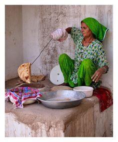 Tandoori Roti, India