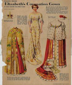 Elizabeth's Coronation Gown