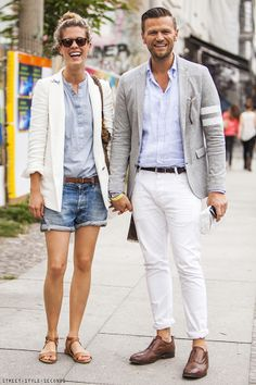 STREET STYLE SECONDS: STYLISH COUPLES ON THE STREETS OF BERLIN