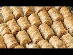рецепт de Baklava rolls - YouTube