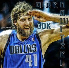 "@steelpr1.designs on Instagram: ""#dirknowitzki #dirk #nowitzki #41 #dallas #mavericks #mavs #30k #30000 #germany #nba #basketball"""
