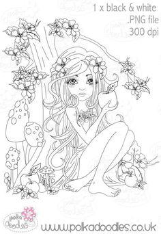 Snow White - Digital Craft Stamp download