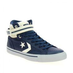 Bessec Baskets  CONVERSE PRO BLAZE GRID Bleu à 90€ à retrouver sur www. bessec-chaussures.com ou dans nos magasins ! 03dd5ba24e0c