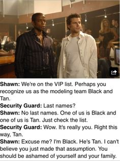 Is there a psych fandom?<--yes. They're called Psych-o's I think<--And we rock.