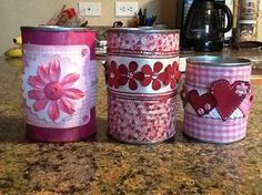 #Cans decoration #recycling #cans #upcycle