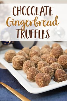 Truffles rich in healthy fats and holiday spirit.