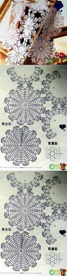 Perforated fabric round motives... <3 Deniz <3