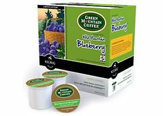 Seasonal Wild Blueberry Coffee from Green Mountain is available for a limited time