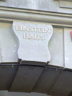 plaque for Einstein house - haus by Gaetan Lee, via Flickr