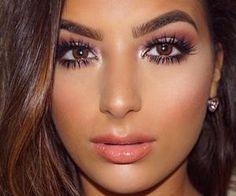 #browneyes #brownhair #makeup