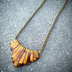 prosperity, Tiger's eye chain necklace