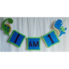 dinosaur banner dinosaur decor dinosaur birthday by FalcoClan