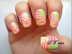 Polka dots, neon, and stripes, oh my!