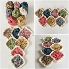 Lovely #crochet motifs over at Made with Loops