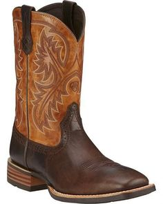 Be ready for anything out on the ranch or down the road with boots from  Ariat