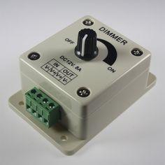 LED Dimmer Regler 12 V / 24 V stufenlos
