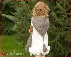 The Elwood Hooded Scarf crochet by Stitch of Nature