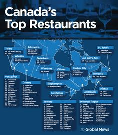 Canada's best restaurants: Toronto dominates, Montreal earns top spot – My Pin's I Am Canadian, Canadian Travel, Canadian History, Canadian Rockies, Best Restaurants In Toronto, Top Restaurants, Fogo Island Inn, All About Canada, Canada Eh