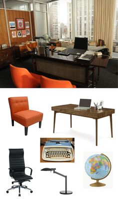 Moodboard of the Week: The Desk Set-Up of Mad Men's Don Draper