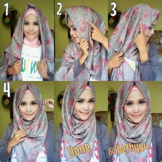 Silk hijabs are usually hard to keep on head without having to fix the hijab every 2 seconds, they easily slide and loose their shape, they come with the most beautiful prnts and colors, but they need tricks to be…