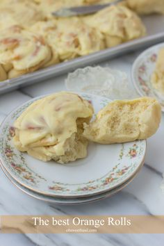 The BEST Orange rolls and they turn out perfectly fluffy every time. ohsweetbasil.com