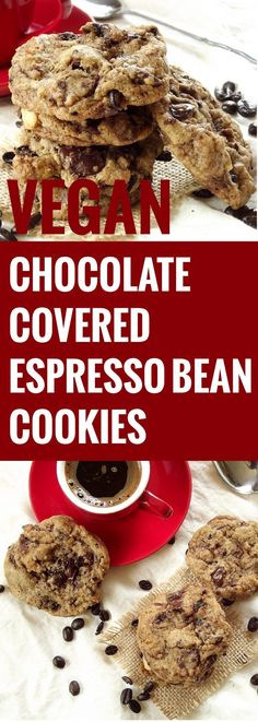 covered espresso bean cookies chocolate covered espresso bean cookies ...