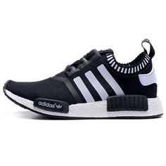 brand new ca4b3 a840d ADIDAS NMD RUNNER PK BLACK WHITE MEN