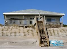 Vacation Rental Topsail Beach-N. Anderson Area Oceanfront | BRIGHT'S BEACH FRONT
