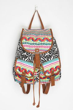 Ecote Bizarre Backpack from Urban Outfitters. Shop more products from Urban Outfitters on Wanelo. Stylish Backpacks, Cute Backpacks, Girl Backpacks, School Backpacks, Moda Fashion, Fashion Bags, Fashion 101, Urban Outfitters, Mk Bags
