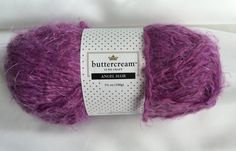 Angel Hair Purple BCAH-06 by Buttercream Luxe Craft  / Purple Angel Hair Yarn / Angel Hair Luxury Yarn ~ Soft Cowl  Scarve Yarn by dcoyshouseofyarn on Etsy