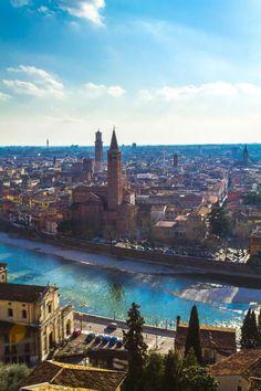 Verona, Italy- Adige river
