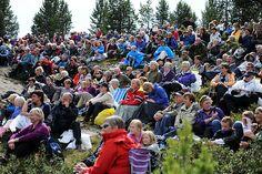 Høgfjellskonserten Ved Rondane - Foto:Esben Haakenstad